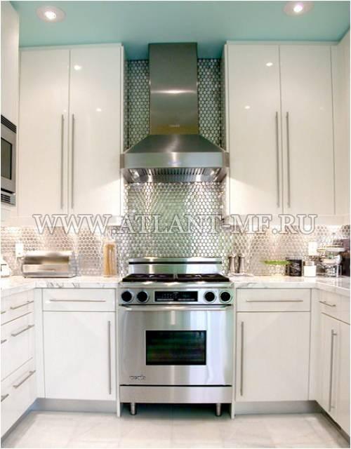 Фотография кухни с зеркалом 10