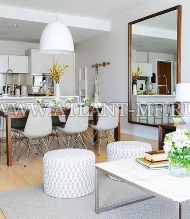 Фотография кухни с зеркалом 15