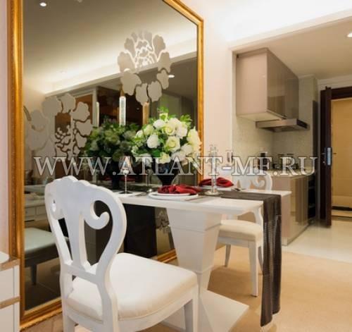 Фотография кухни с зеркалом 16