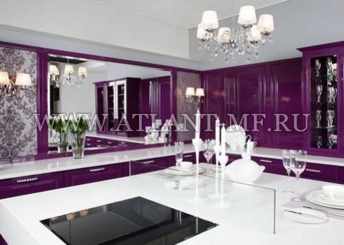 Фотография кухни с зеркалом 6