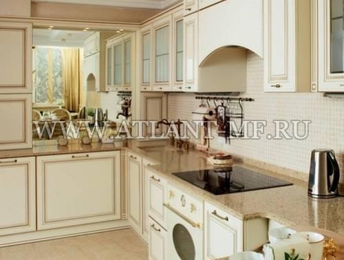 Фотография кухни с зеркалом 7