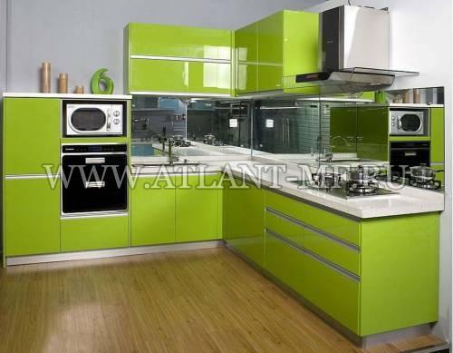 Фотография кухни с зеркалом 8